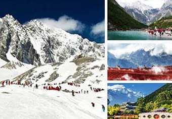 ทัวร์จีน:ทัวร์ต้าหลี่ ลี่เจียง ภูเขามังกรหยก หุบเขาพระจันทร์สีน้ำเงิน ภูเขาซีซาน ประตูมังกร