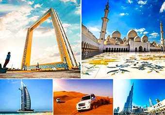 DUBAI FRAME ทัวร์ดูไบ ตะลุยทะเลทราย ช้อปปิ้งห้างใหญ่ พักโรงแรมระดับ 5 ดาว