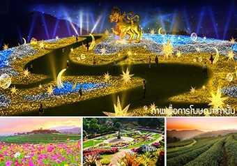 ทัวร์เชียงราย เทศกาลประดับไฟฤดูหนาว ยิ่งใหญ่ที่สุดในเอเชีย พิเศษ! พักโรงแรม ระดับ 5 ดาว