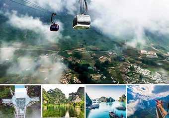 LUXURY TOUR ทัวร์เวียดนามเหนือ ฮานอย นิงบิงห์ ฮาลองเบย์ ซาปา กระเช้าฟานซีปัน พักซาปา 2 คืน