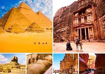 ทัวร์อียิปต์ ไฮไลท์อียิปต์ จอร์แดน เพตรา ทริปเดียวสองประเทศ