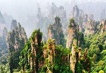 ทัวร์จีน:ทัวร์จางเจียเจี้ย ฉางซา เมืองโบราณฟ่งหวง 6 วัน ไทยสมายแอร์ WE