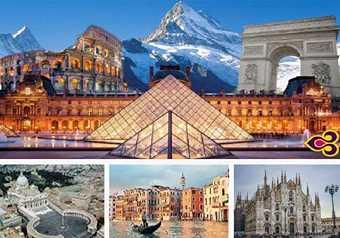 ทัวร์ยุโรป ทัวร์อิตาลี สวิตเซอร์แลนด์ ฝรั่งเศส 11 วัน