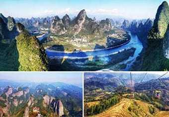 ทัวร์จีน:โรแมนติกทัวร์ซานเจียง ซินหนิง ภูเขาแปดเหลี่ยม หลางซาน หมู่บ้านเผ่าต้ง กุ้ยหลิน