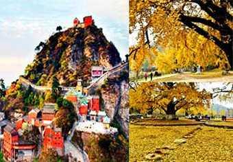 ทัวร์อู่ฮั่น ย้อนรอยประวัติศาสตร์สามก๊ก เขาบู้ตึ้ง หุบเขาแป๊ะก๊วยเปลี่ยนสี อายุกว่า1,000 ปี