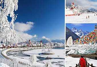 ทัวร์ภูเขาหิมะซีหลิง ต้ากู๋ปิงชวน ธารน้ำแข็งการ์เซียร์ ช่วงสวยงามสุดๆ