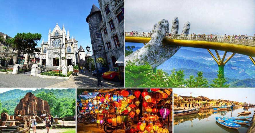 LUXURY TOUR ทัวร์เวียดนามกลาง ดานัง เว้ ฮอยอัน บาน่าฮิลล์ พักบาน่าฮิลล์