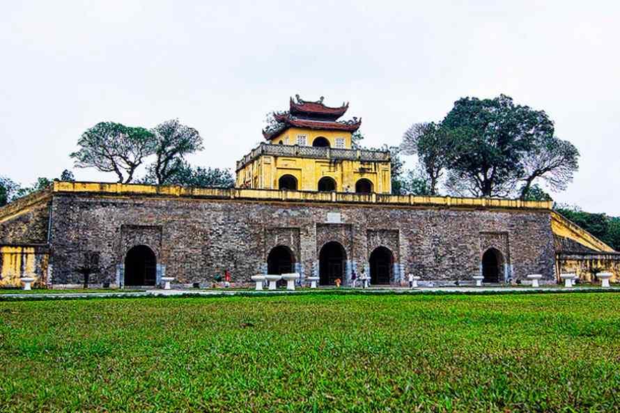 พระราชวังทังลอง (Imperial Citadel of Thang Long)