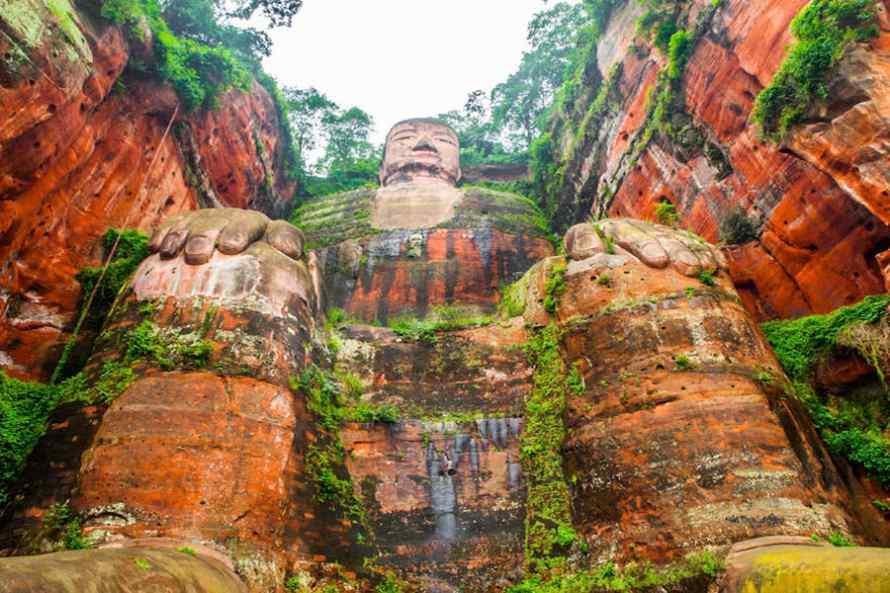 พระพุทธรูปสลักเล่อซัน ประติมากรรมระดับโลก ประเทศจีน