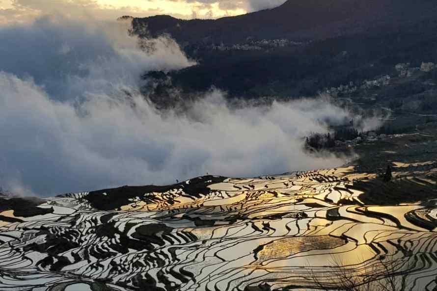 หยวนหยาง นาขั้นบันไดฮานี มรดกโลก UNESCO สถานที่ท่องเที่ยวยอดนิยม..สวรรค์ช่างภาพ
