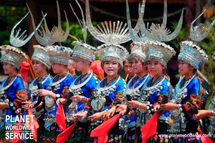 หมู่บ้านแม้วซีเจียง Xijiang miao