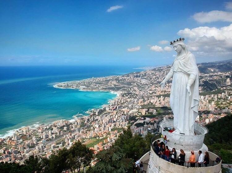 อนุสาวรีย์พระแม่มารี The Shrine of Our Lady of Lebanon