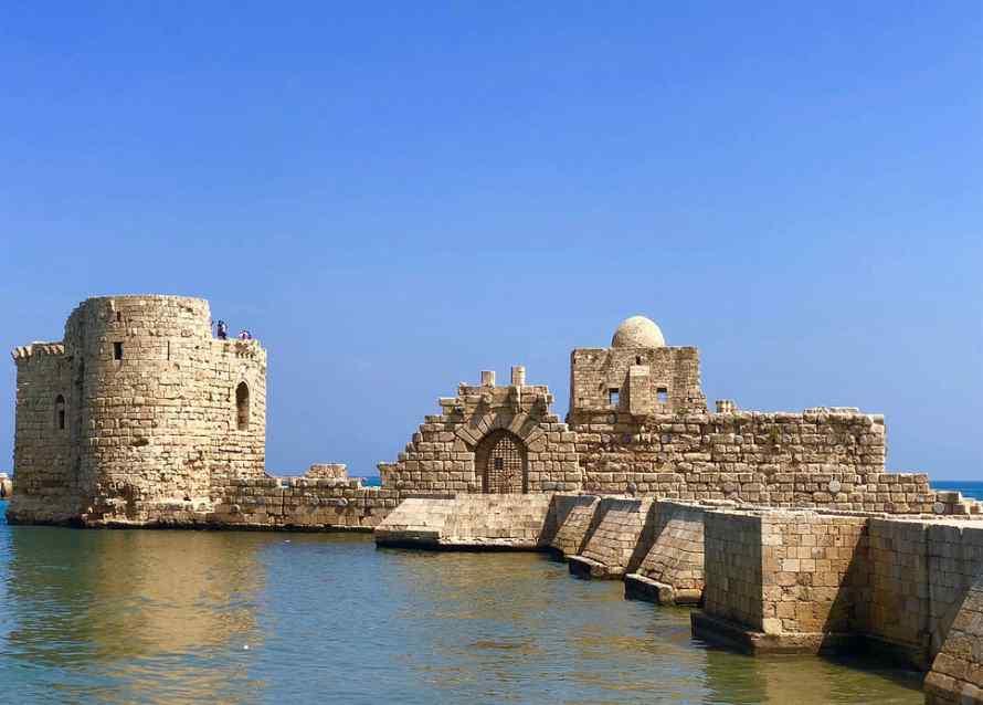 ปราสาททะเลเมืองไซดอน Sidon Sea Castle
