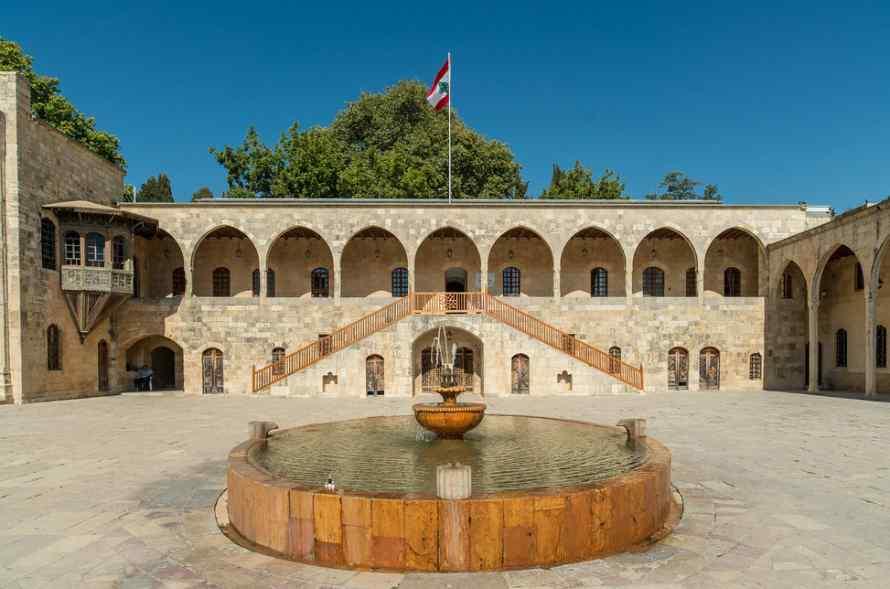 พระราชวังไบเทดดีน Beiteddine Palace