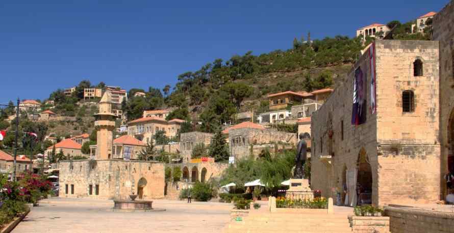 หมู่บ้านวัฒนธรรม เดอร์ เอล คามาร์ Deir El Qamar