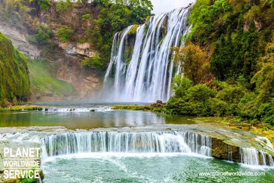 อุทยานน้ำตกหวงกั่วซู่ Huangguoshupubu
