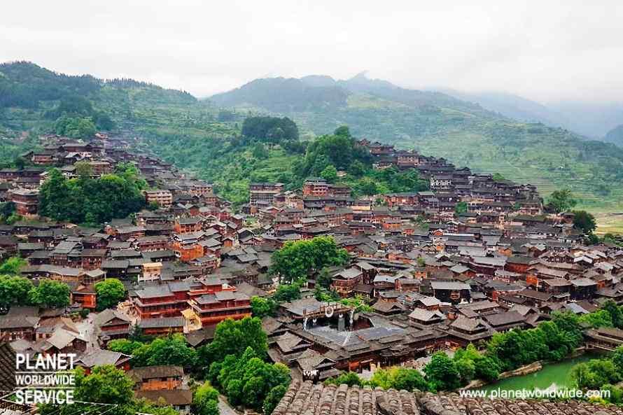 หมู่บ้านแม้วซีเจียง