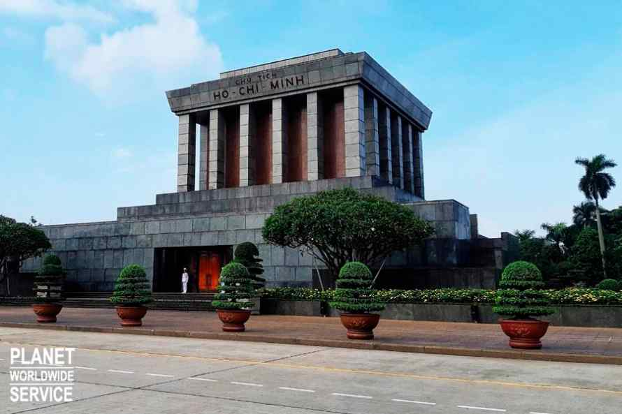 สุสานโฮจิมินห์ Ho Chi Minh Mausoleum