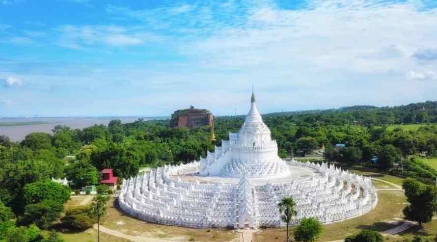 เจดีย์ชินพิวเม หรือ เจดีย์เมี๊ยเต็งดาน Hsinbyume Pagoda