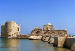 ทัวร์จอร์แดน ปราสาททะเลเมืองไซดอน Sidon Sea Castle