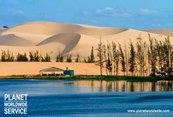 ทัวร์เวียดนาม ทะเลทรายขาว มุยเน่ White Sand Dune