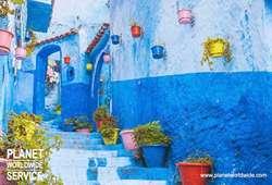 ทัวร์โมรอคโค เมืองสีฟ้าขาว เชฟ ชาอูน