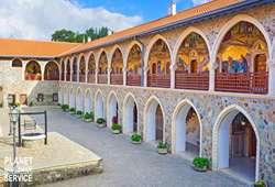ทัวร์เอเชีย พิพิธภัณฑ์คิคคอส Museum of Kykkos Monastery