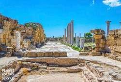 ทัวร์เอเชีย เมืองโบราณซาลามิส Salamis Ancient Town
