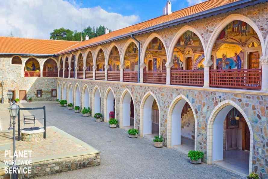 พิพิธภัณฑ์คิคคอส Museum of Kykkos Monastery