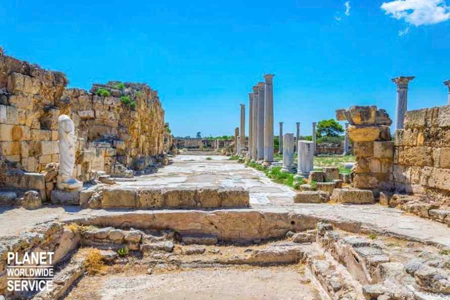 เมืองโบราณซาลามิส Salamis Ancient Town