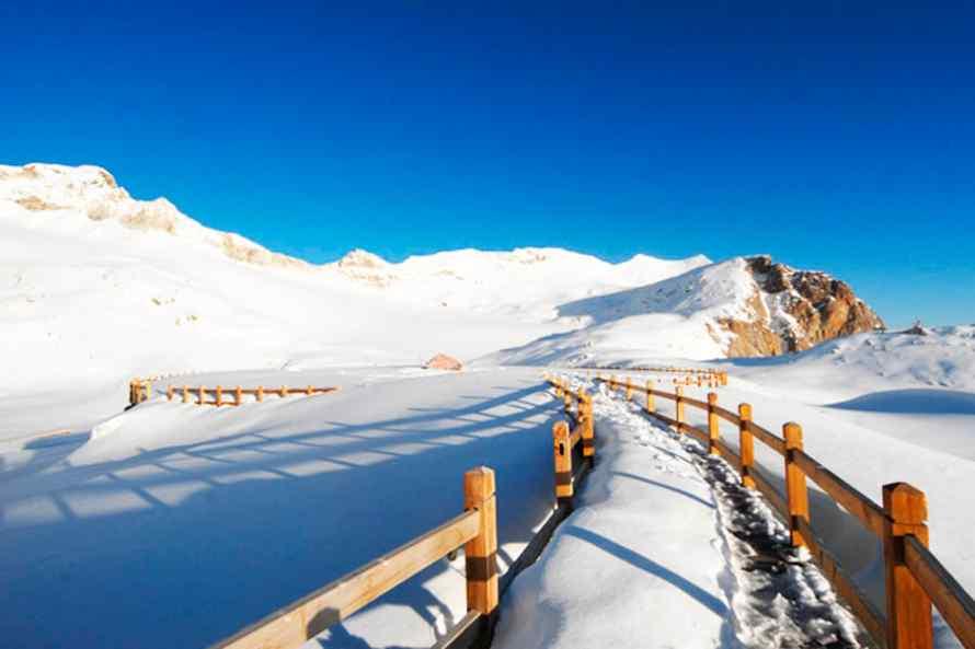 ทัวร์ภูเขาหิมะซีหลิง ต้ากู๋ปิงชวน
