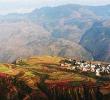 ทัวร์จีนตงชวน ภูเขาหิมะเจี้ยวจี๋ ภูเขาหญ้าอู๋เหมินซานสีทอง ภูเขานาขั้นบันไดหลากสีสันช่วงสวย