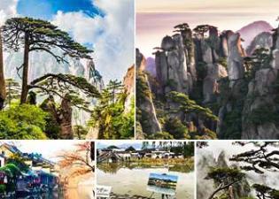 LUXURY TOUR ทัวร์หวงซาน เมืองโบราณริมน้ำอู่เจิ้น เมืองโบราณหงชุน เซี่ยงไฮ้