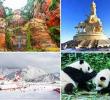ทัวร์จีน ทัวร์เฉิงตู ภูเขาหิมะซิหลิง องค์ผู่เสียนทรงช้าง หลวงพ่อเล่อซาน ศาลเจ้าสามก๊ก