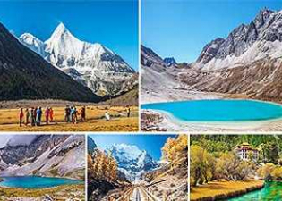 ทัวร์ย่าติง ตันปา ภูเขาสี่ดรุณี หมู่บ้านโบราณทิเบต การบินไทย TG :ทัวร์จีน