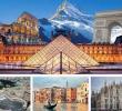 ทัวร์ยุโรป ทัวร์อิตาลี สวิตเซอร์แลนด์ ฝรั่งเศส ขึ้นเขายูงเฟรา 11 วัน