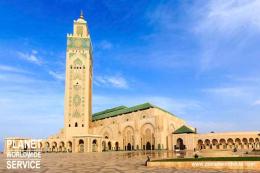 สุเหร่าแห่งกษัตริย์ฮัสซันที่ 2 Mosque of Hassan II