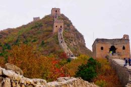 กำแพงเมืองจีนด่านซือหม่าไถ